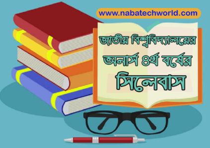national university honours 4th year syllabus
